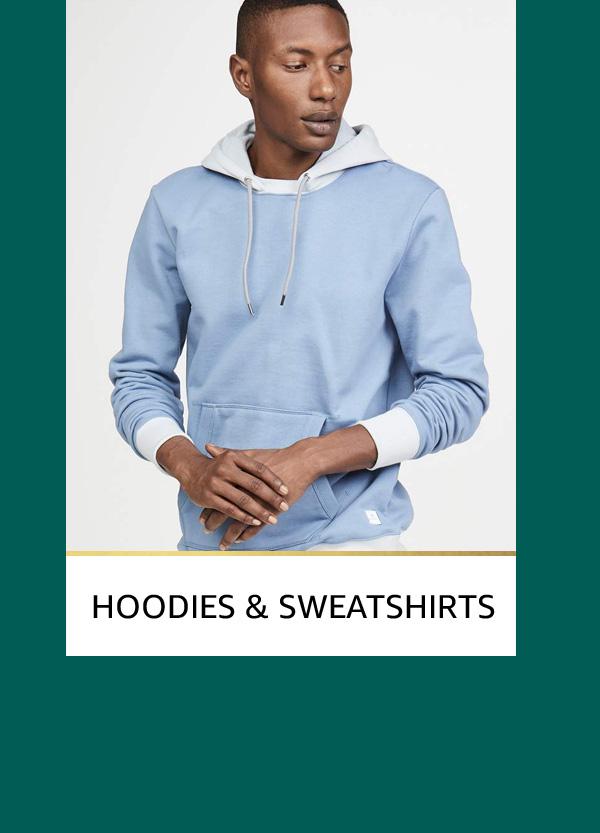 Men's Hoodies and Sweatshirts