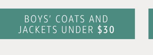 Boys' Coats