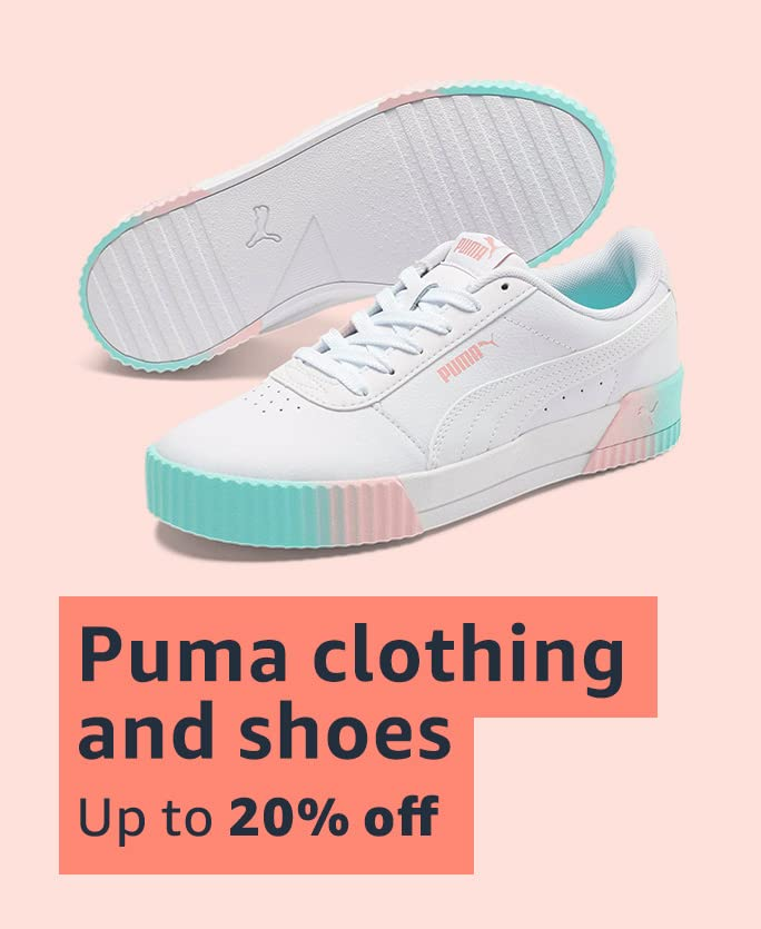 Puma clothing and shoes