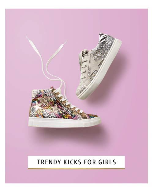 Trendy kicks for girls