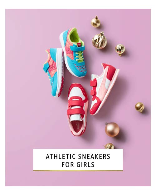 athletic sneakers for girls