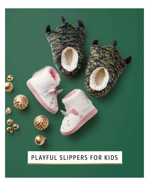 playful slippers for kids