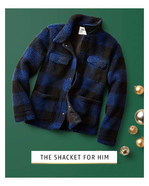 shacket for him