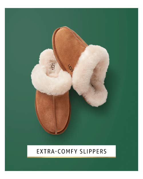 Extra comfy slippers