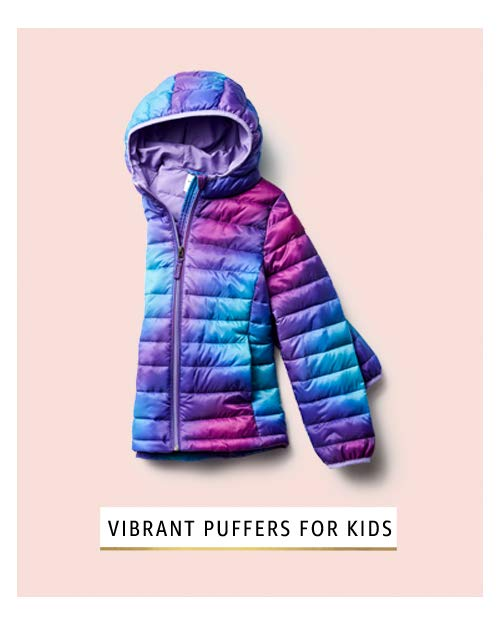 statement puffer for kids