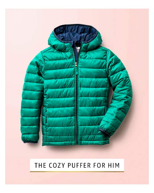 bold puffer for boys