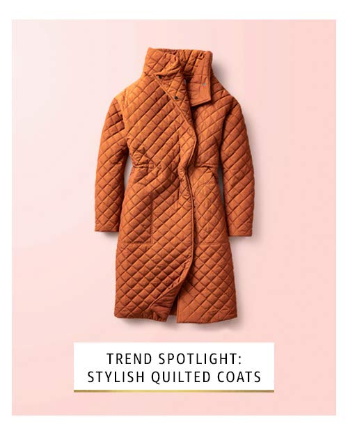 Stylish quilted coats