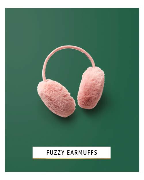 Fuzzy earmuffs