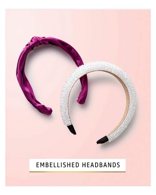 Embellished headbands