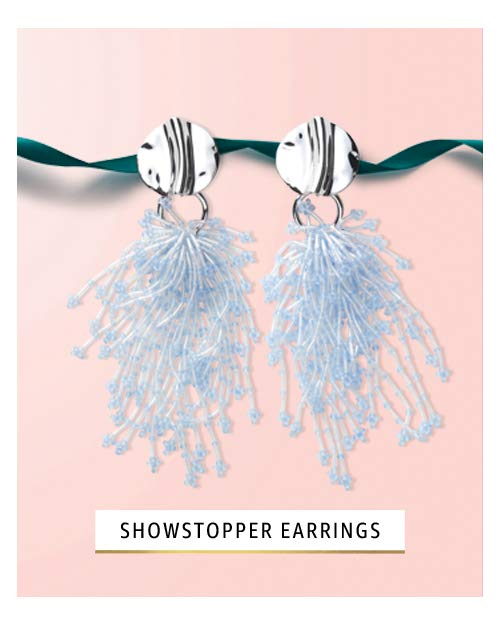 Showstopper earrings