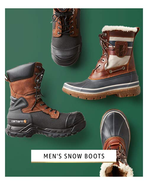snow boots for him