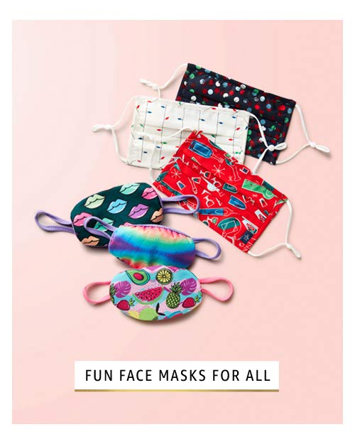 Fun face masks