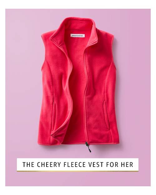 Cheery puffer vest