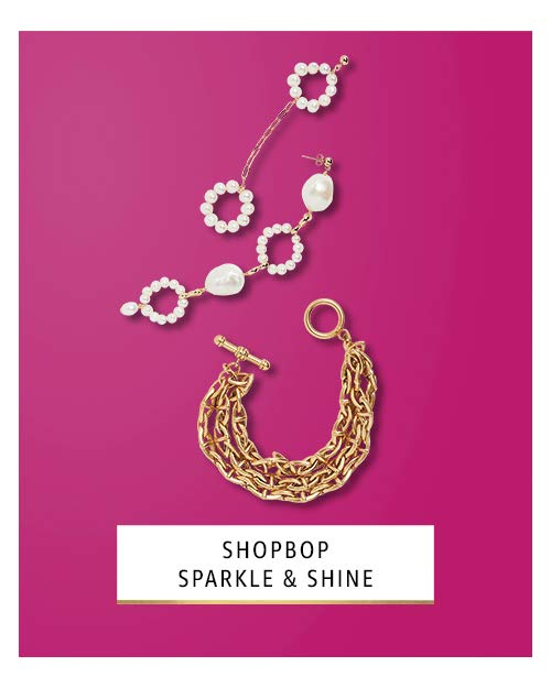 shopbop sparkle & shine