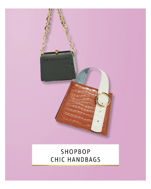 Shopbop chic handbags