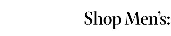 Shop mens: