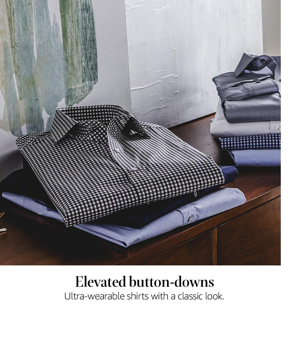 Elevated button-downs