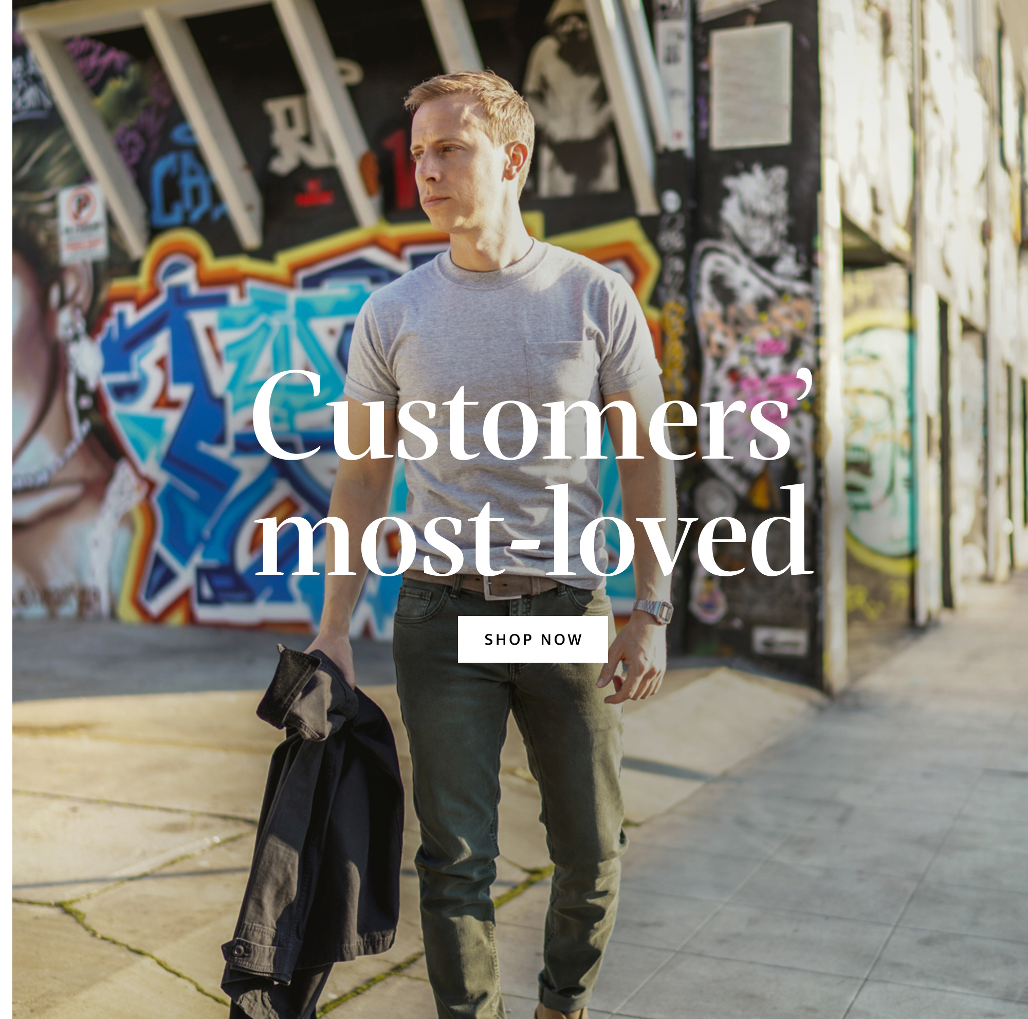 Customers' most-loved