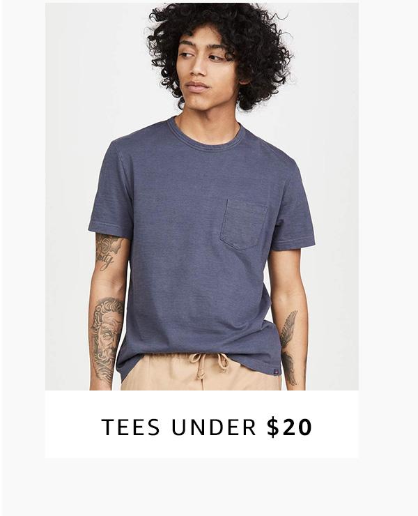 Tees under $20