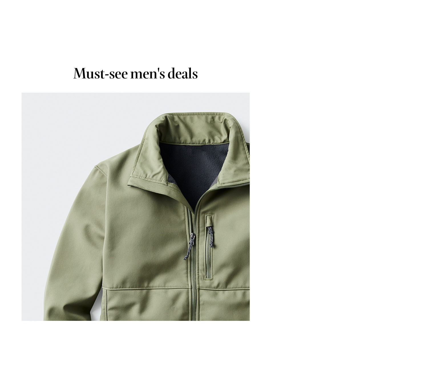 Must-see men's deals