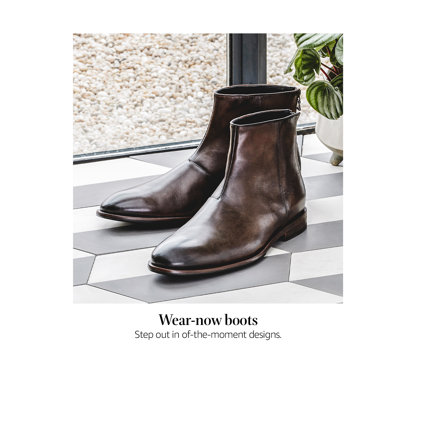 Wear-now boots