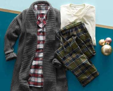 Men's holiday PJs