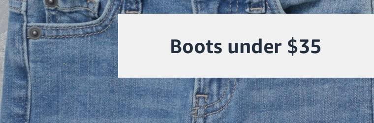 Boots under $35