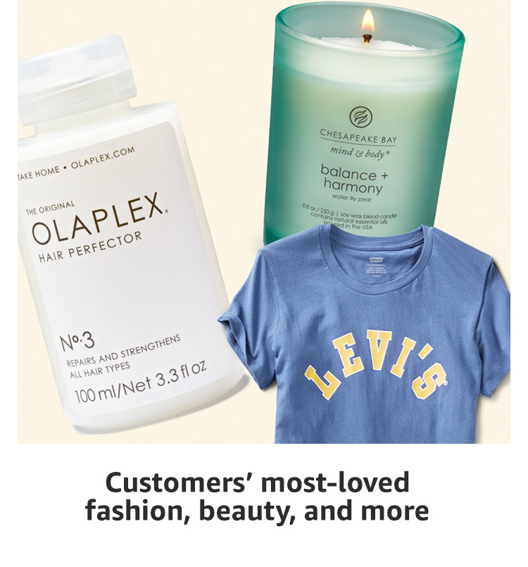 Customer' most-loved fashion, beauty, and more