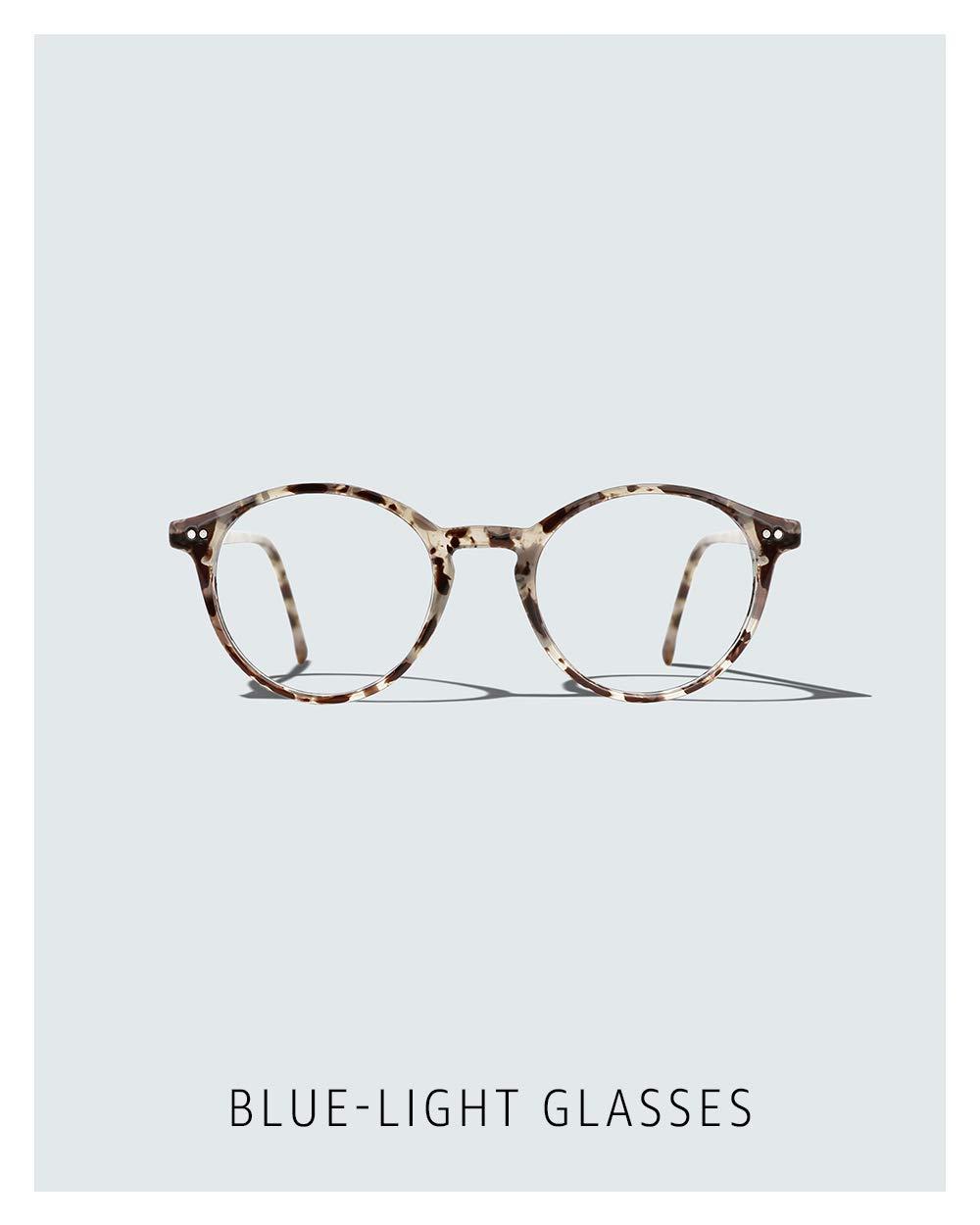 Blue-light glasses