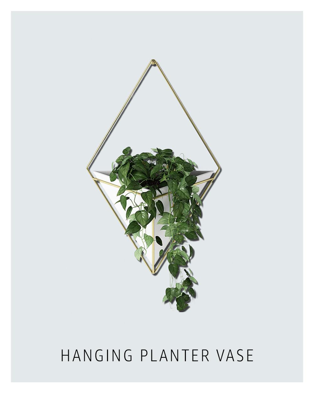 Handing planter vase