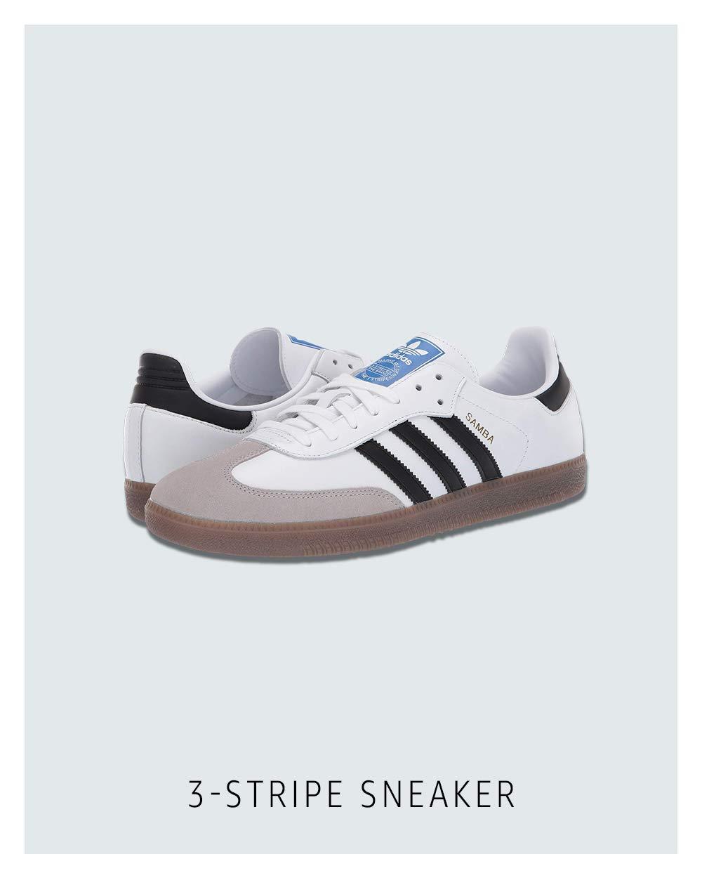 3-stripe sneaker