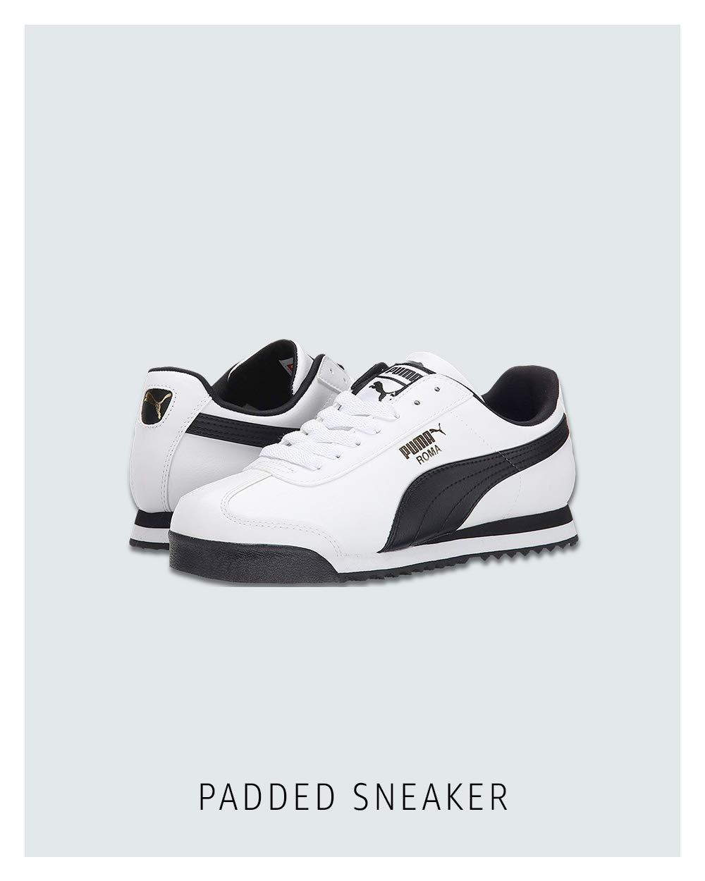 Padded sneaker