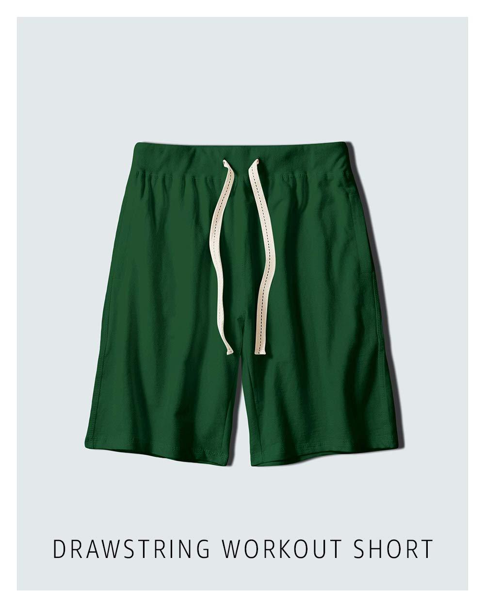 Drawstring workout short