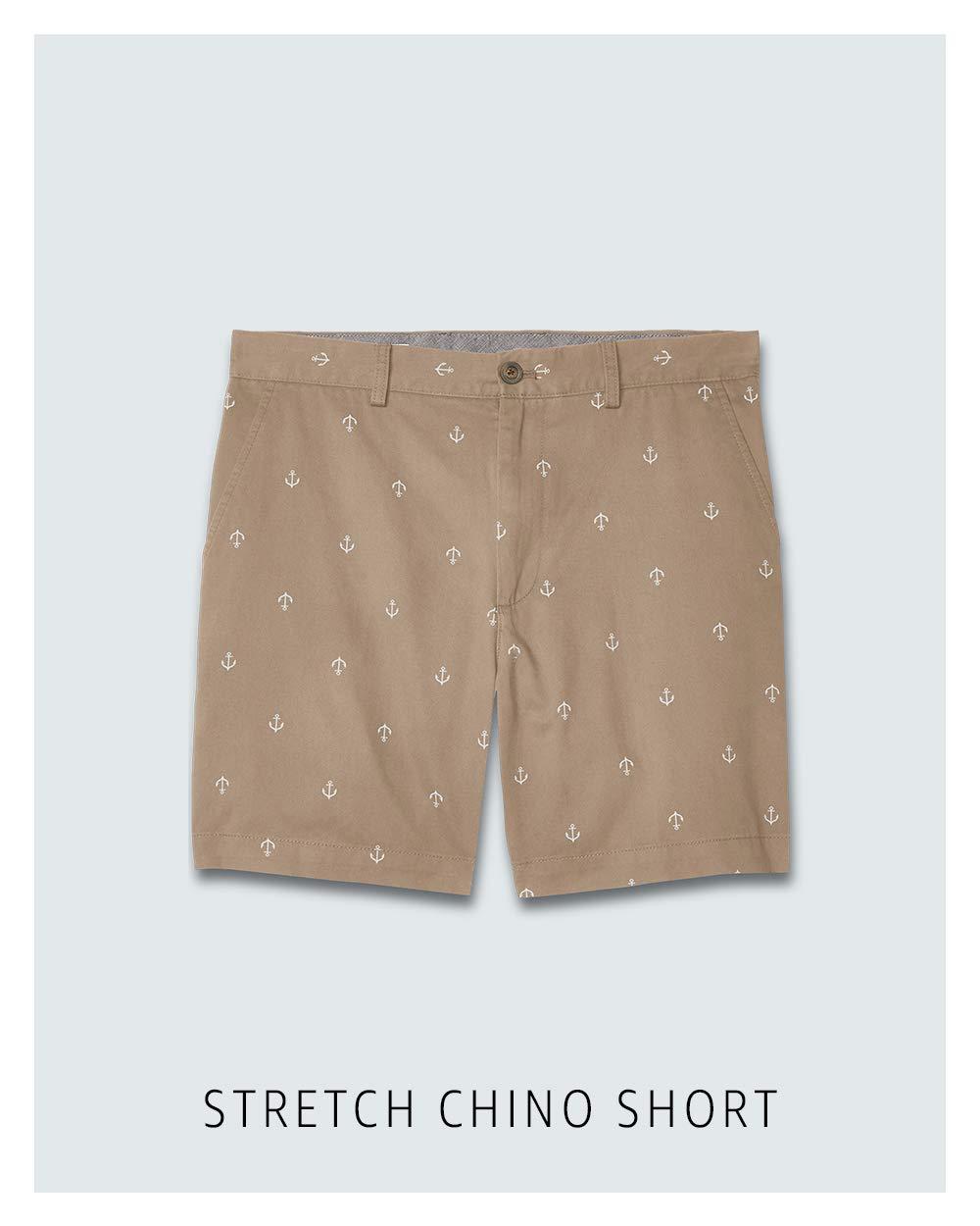 Stretch chino short