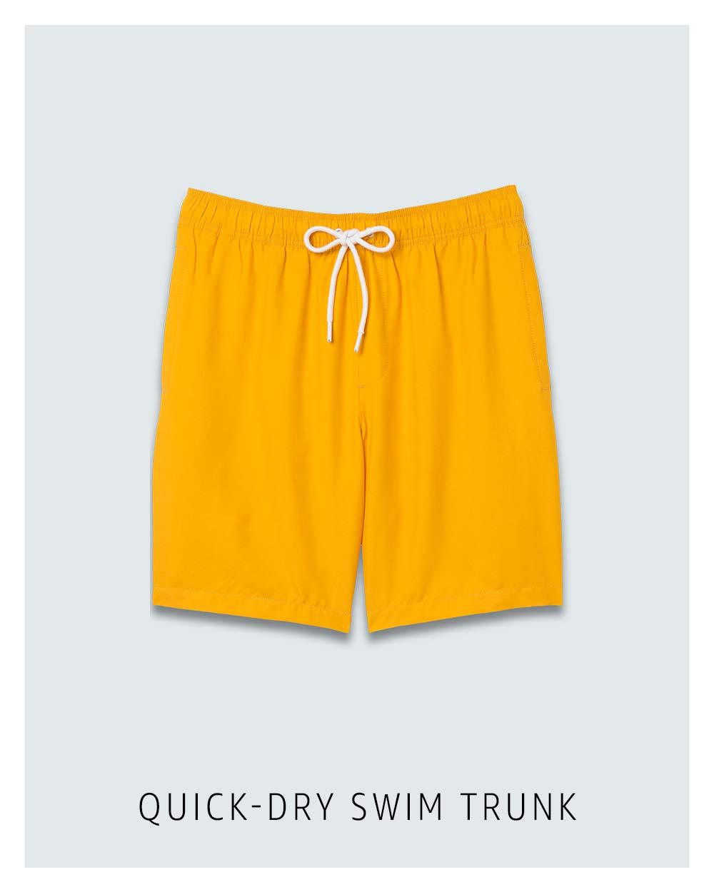 Quick-dry swim trunk