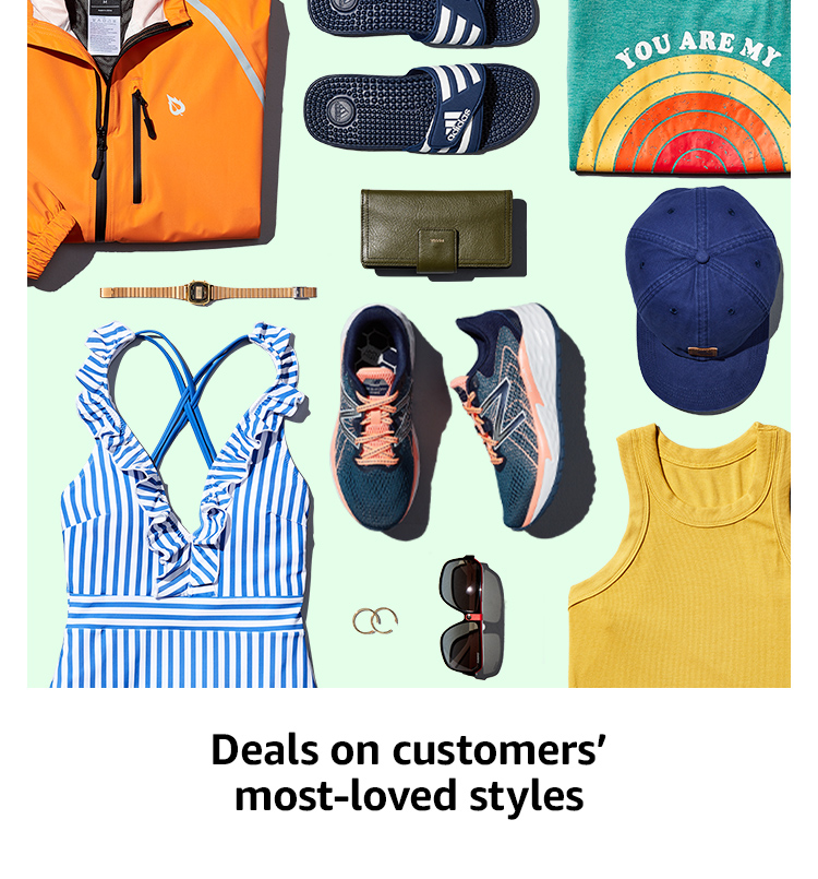 Deals on customers' most-loved styles