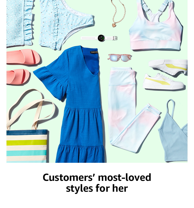 Customers' most-loved styles for her