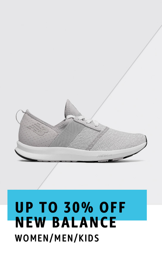 Up to 30% off New Balance