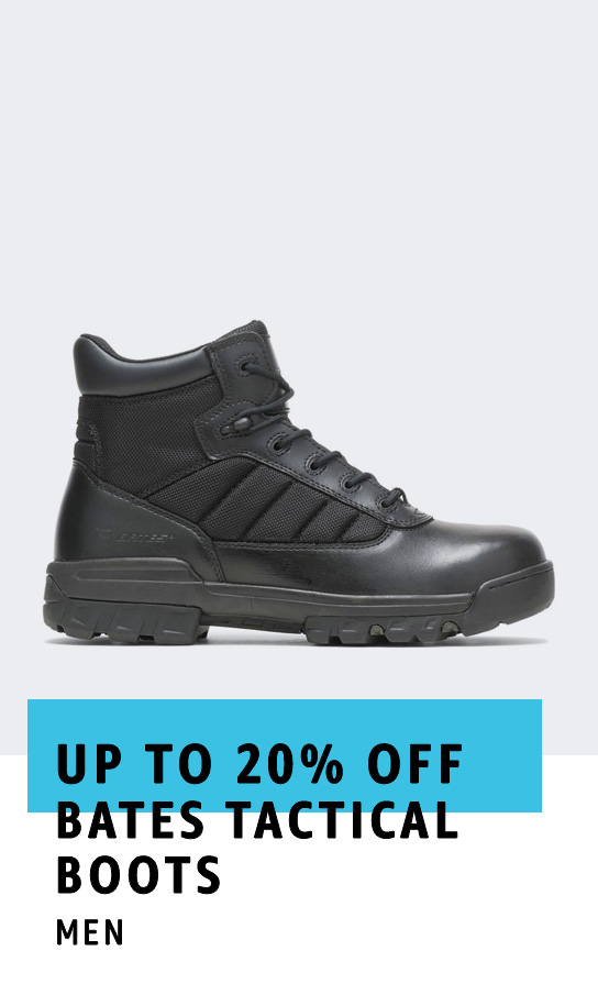 Up to 20% off Bates Tactical Boots