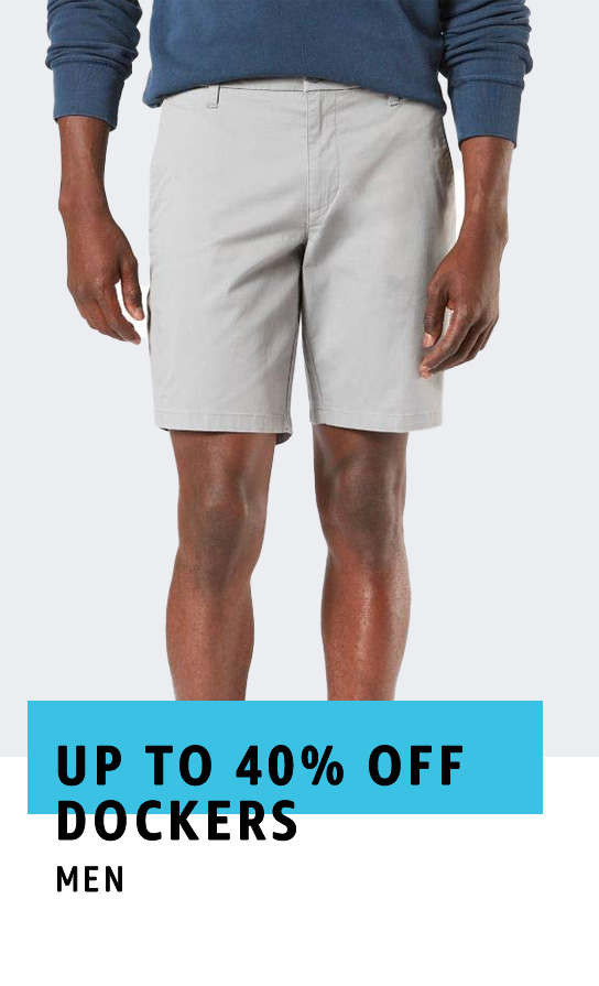 Up to 40% off Dockers