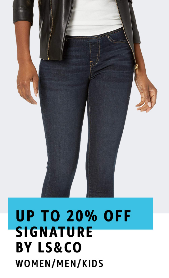 Up to 20% off Signature by Levi Strauss & Co. Gold Label