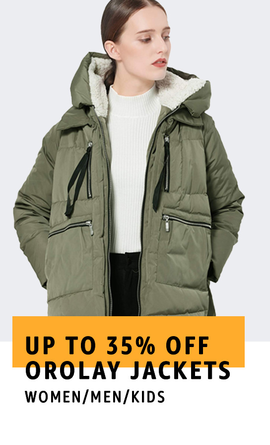 Up to 35% off Orolay jackets