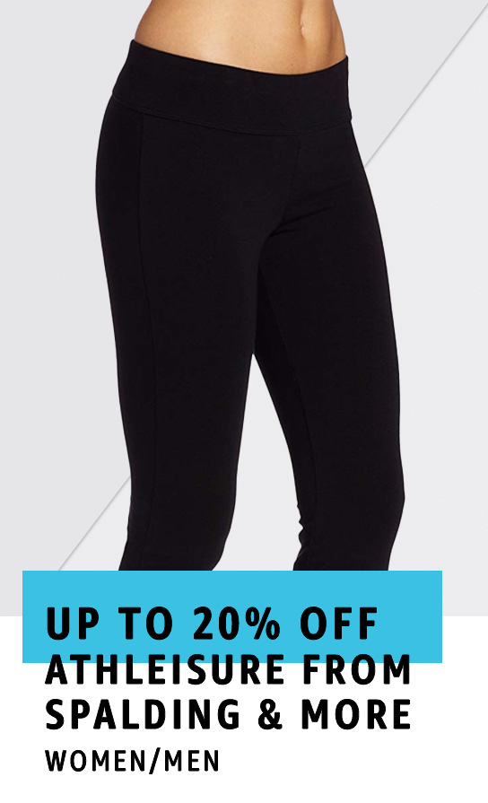 Up to 20% off Athleisure from Spalding & Jockey