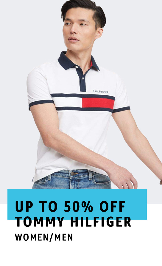 Up to 50% off Tommy Hilfiger Apparel and Accessories