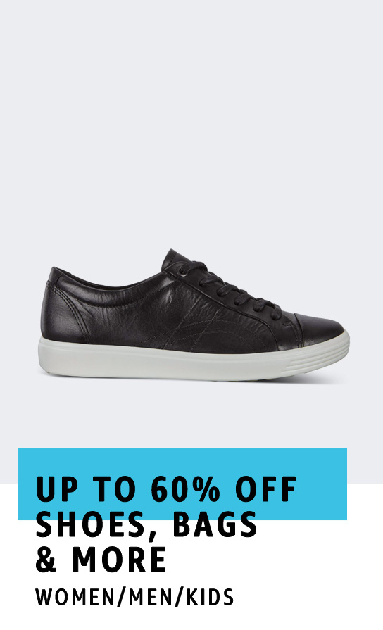 Up to 60% off Shoes, Bags & More