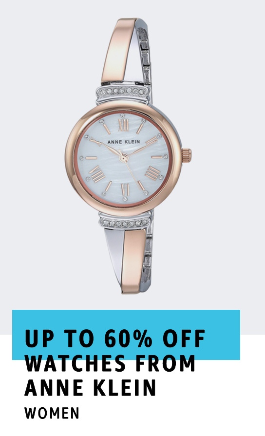 Up to 60% off Watches from Anne Klein