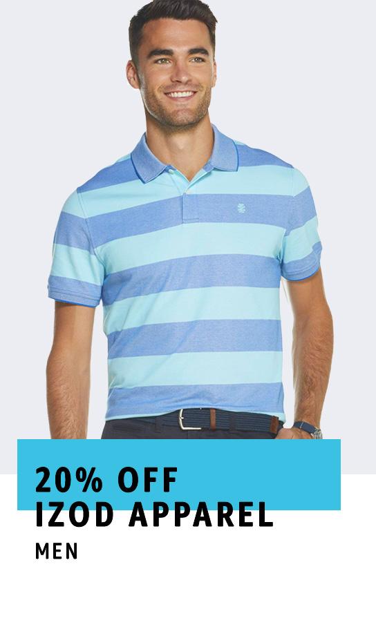 20% off IZOD Apparel