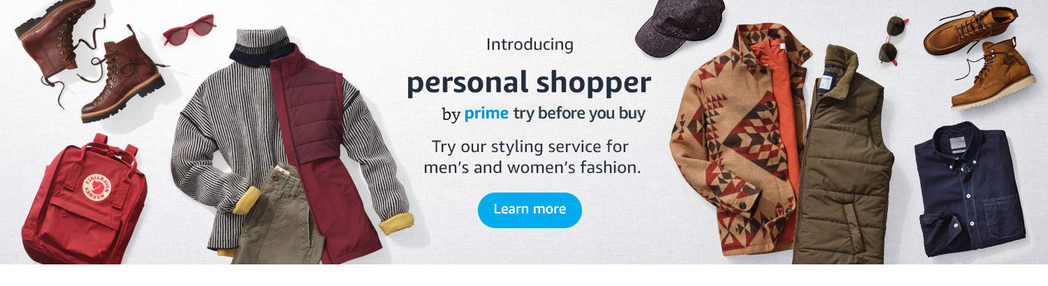 Introducing Personal Shopper by Prime Try Before You Buy