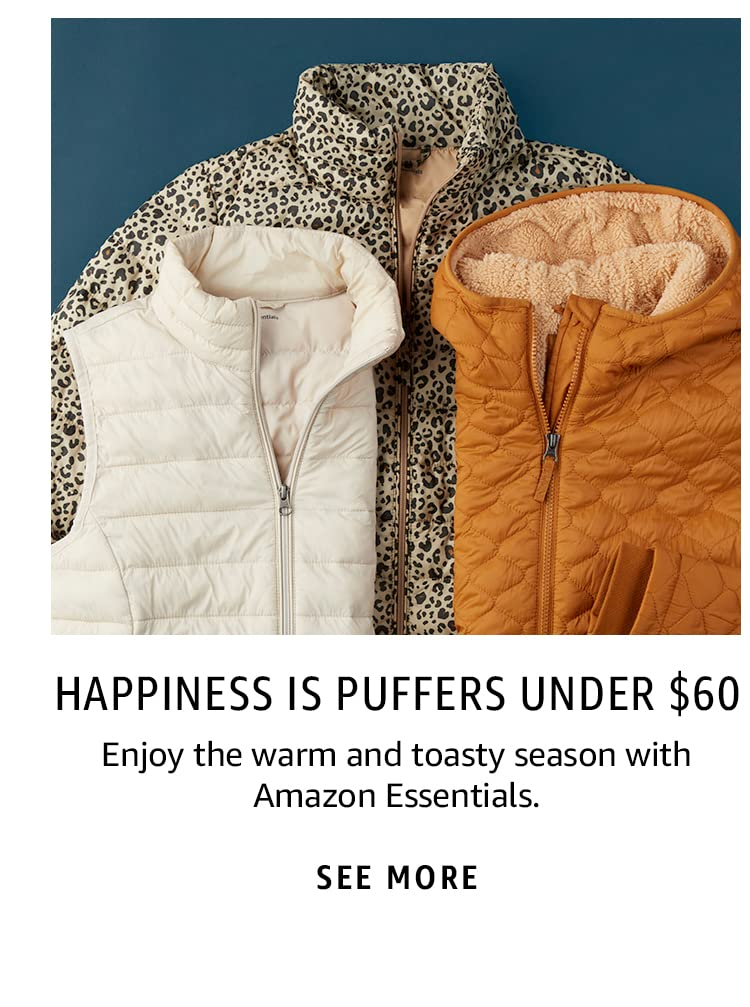 Happiness is Puffers Under $60