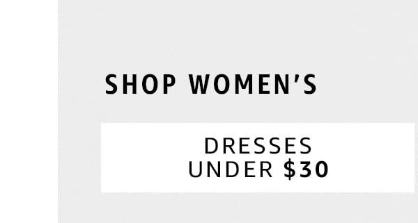 Dress Under $30